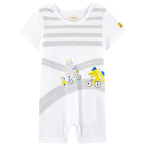 Baby Boys Fun Jersey Jumpsuit