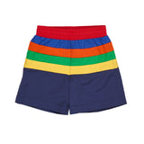 Color Block Swim Trunk