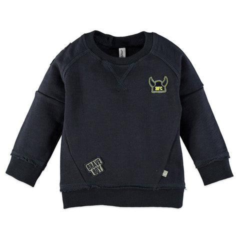Boys Black Sweatshirt