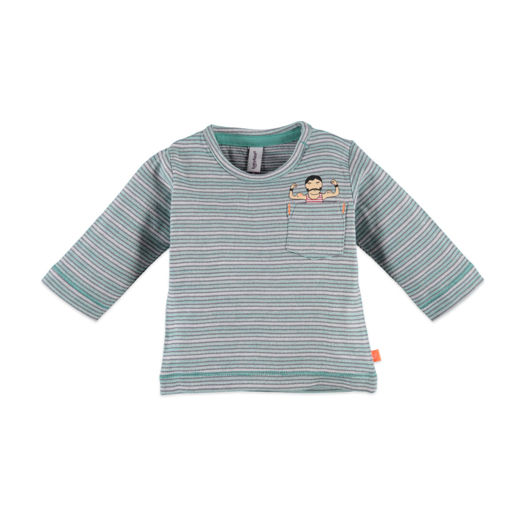 Baby Boys Striped Long Sleeve Top