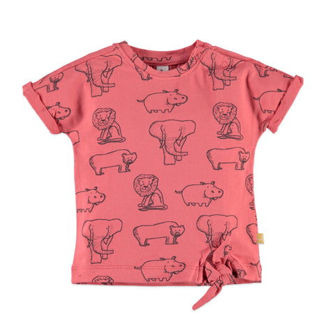 Baby Girls Animals Print Top
