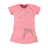 Baby Girls Pink Melon Dress