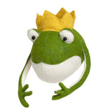 Frog Prince Head Wall Mount