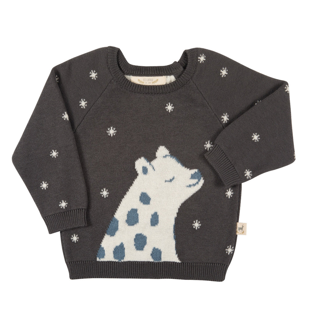 Magic Leopard Knitted Sweater