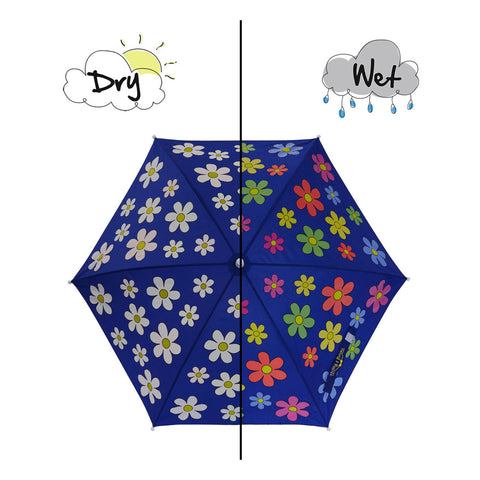 Flower Colour Changing Umbrella