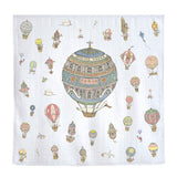 Organic Mini Swaddles Gift Set - Atelier Choux+Hot Air Balloons