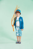 Boys T-shirt with Chameleon Design