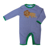 Baby Boys Crochet Lion Romper
