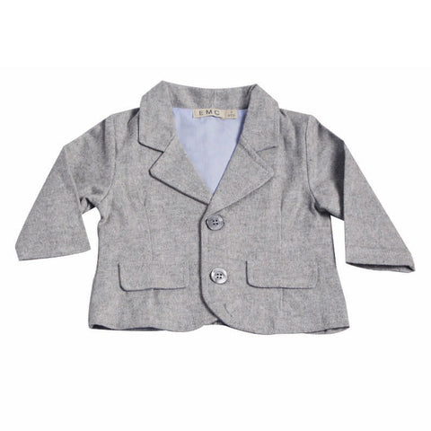Boys Herringbone Flannel Suits Set