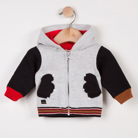 Baby Boys Cute Panda Cardigan