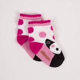 Charming Spotted Jacquard Socks