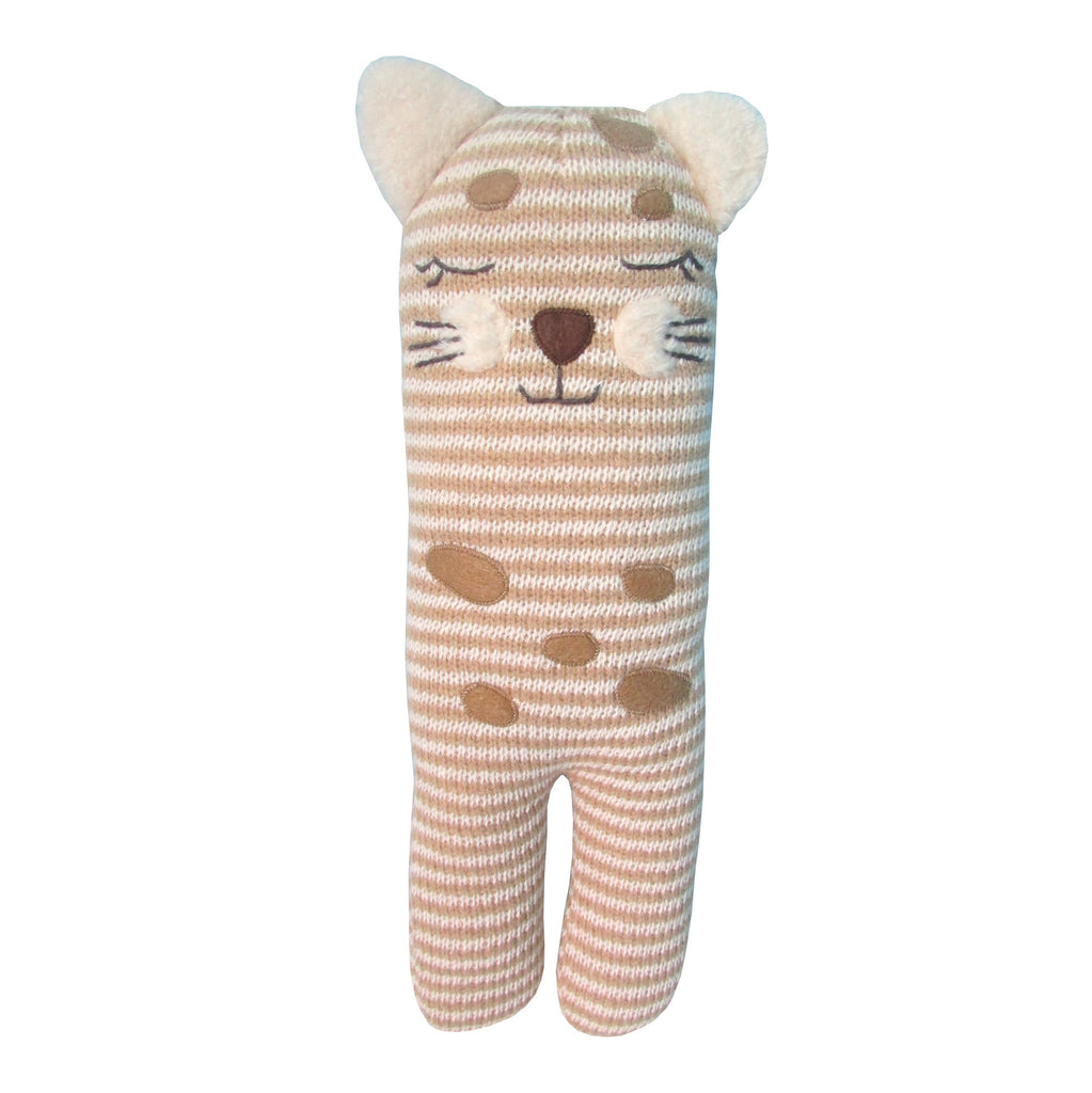 Cheetah Knit Toy