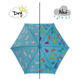 Cats and Dogs Colour Changing Umbrella