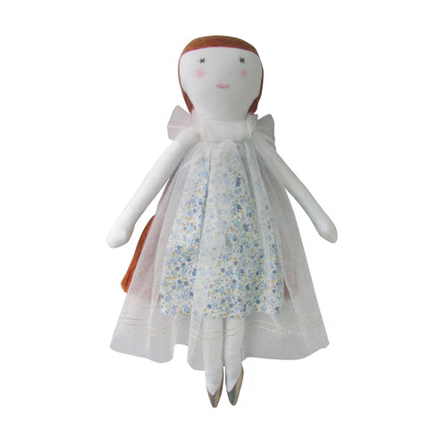 Ginger Doll with Blue Dress