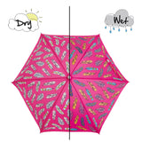 Feather Colour Changing Umbrella
