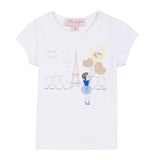 Girls Eiffel Balloons T-Shirt