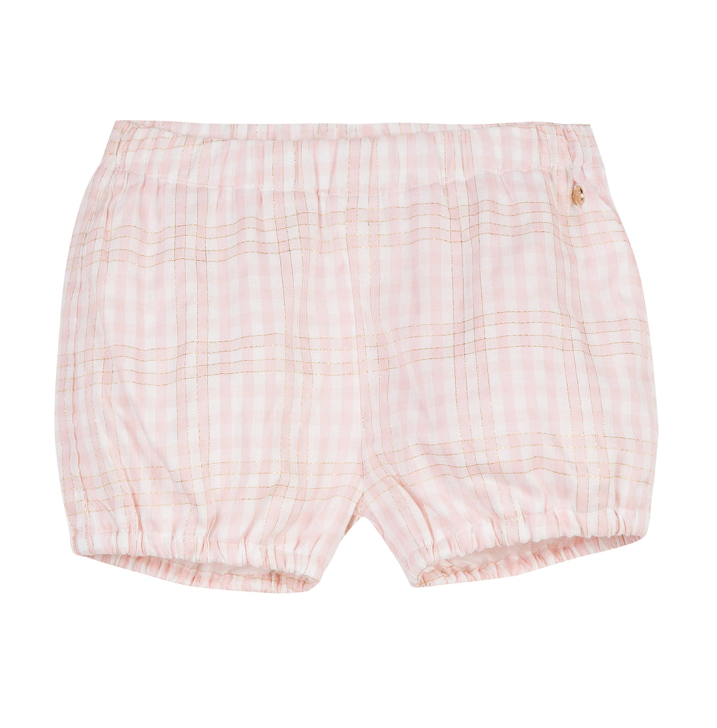 Baby Girls Pink Shorts