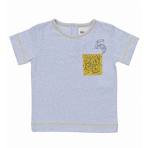 Happy Hour Printed Pocket T-Shirt