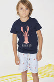 Boys Lobster Print Tee