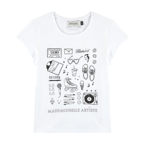 Customizable T-shirt to Color Up Jeanbourget x Posca