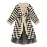 Girls Diamond Coat