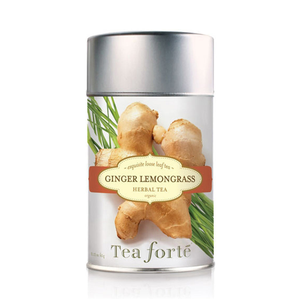 Ginger Lemongrass Loose Leaf Tea Canister