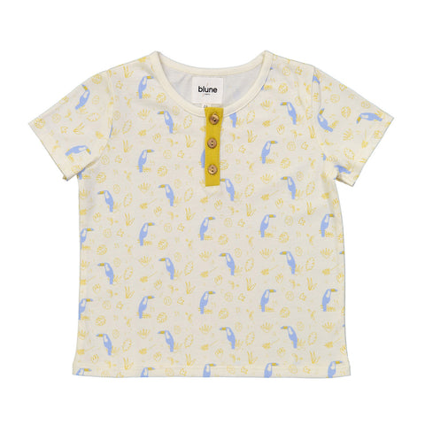 Tropicool T-Shirt with Allover Print