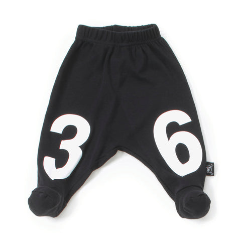 Numbered Footie Baggy