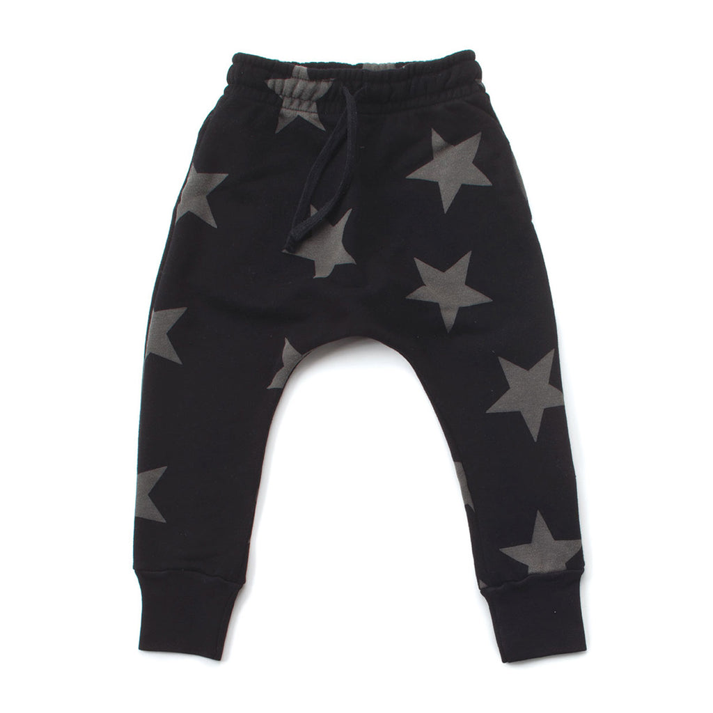 Black Star Baggy Pants