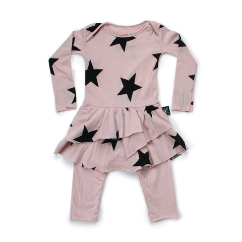 Star Onesie Skirt