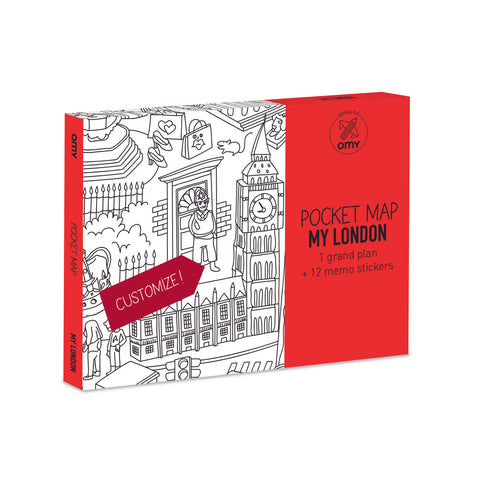 Pocket Map Coloring - London