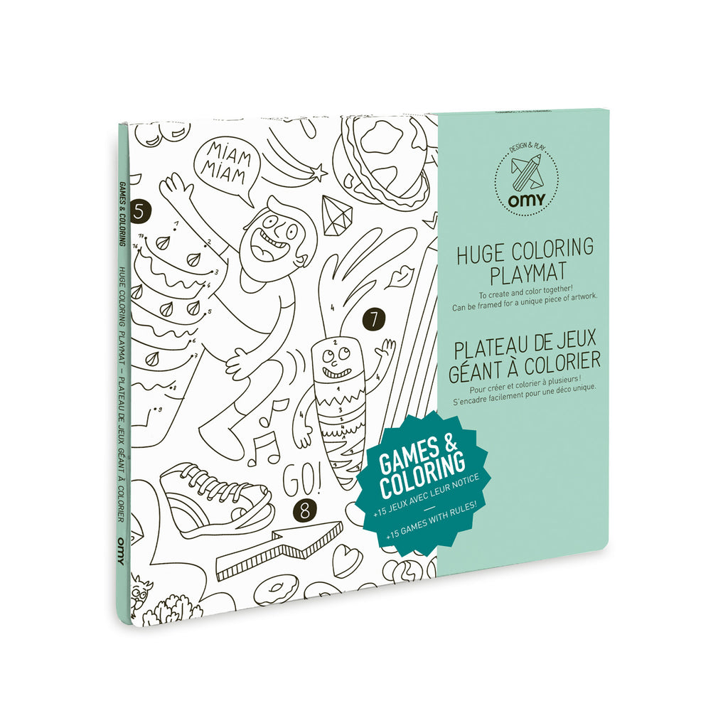 - OMY Play Coloring Poster – Petit Mignon
