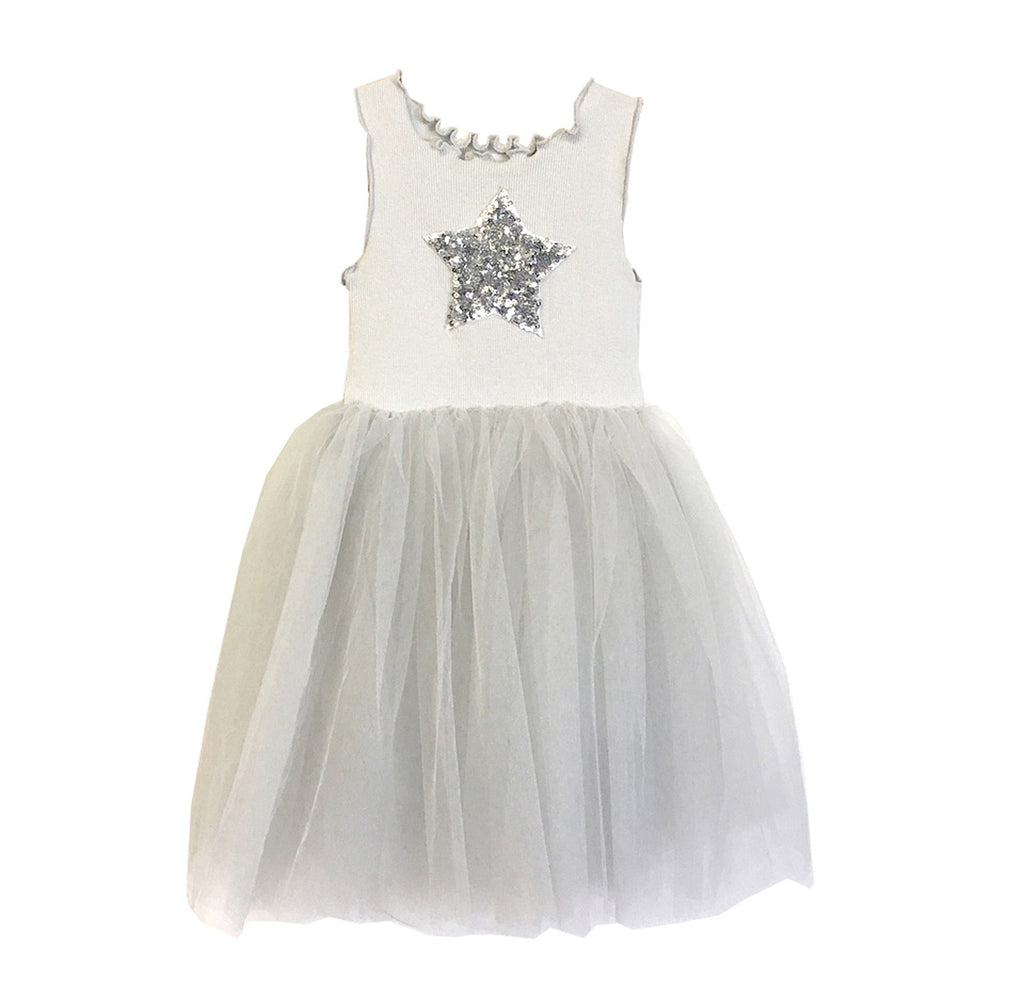 Girls Tutu Dress - Blue