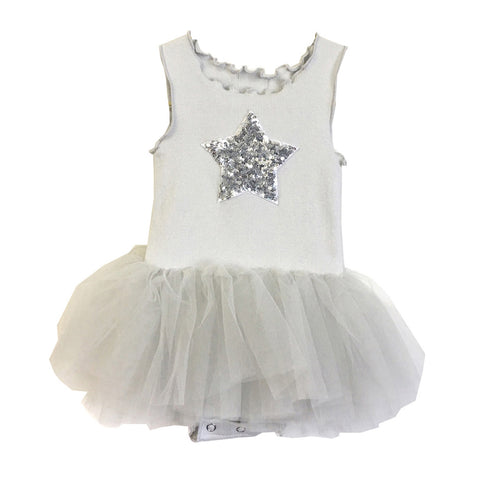 Baby Girls Tutu Dress- Blue