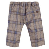 Brown Marl Checked Trousers
