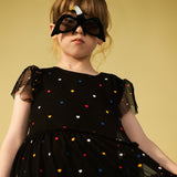 Girls Tiered Tulle Dress
