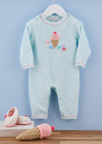 Baby Girls Crochet Ice Cream Onesie