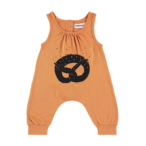 Organic Cotton Pretzel Jumpsuit