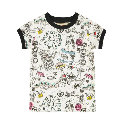 Organic Cotton Fairground T-shirt