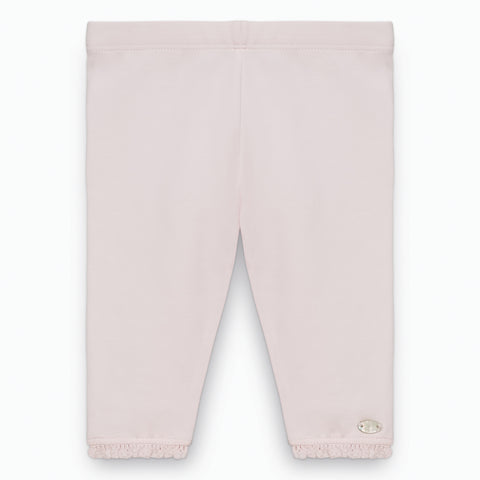 Baby Girls Blush Jersey Leggings
