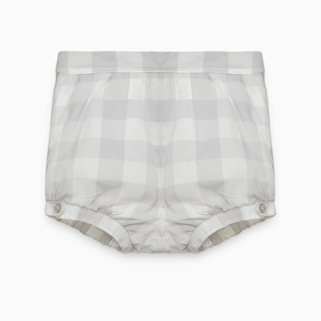 Grey Checked Bloomers
