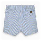 Baby Boys Ocean Blue Striped Shorts