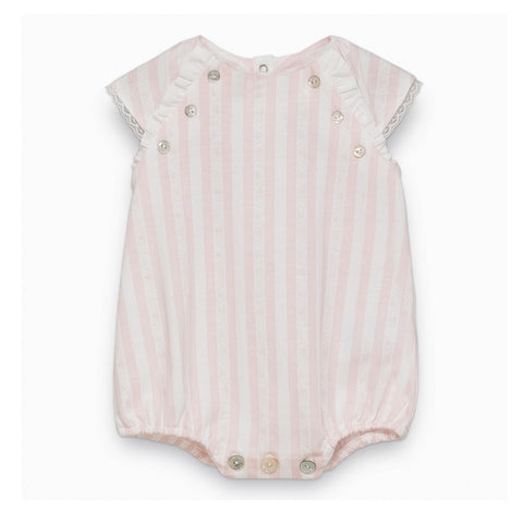 Baby Girls Pale Pink Playsuit