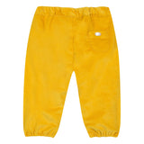 Baby Girls Saffron Fine-Ribbed Corduroy Trousers