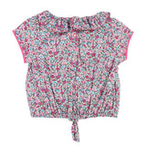 Baby Girls Floral Print Poplin Blouse