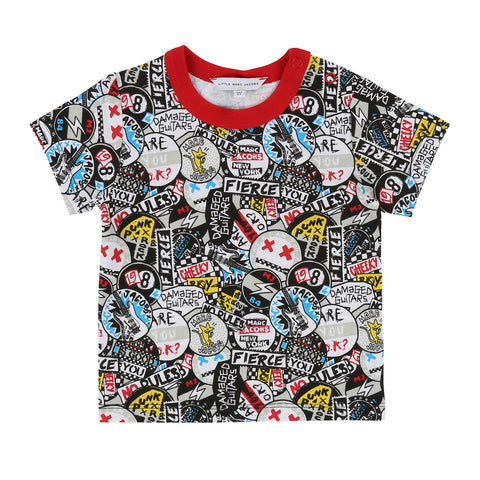 Baby Boy Allover Printed T-shirt