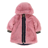 Baby Girls Hooded Reversible Puffer Coat