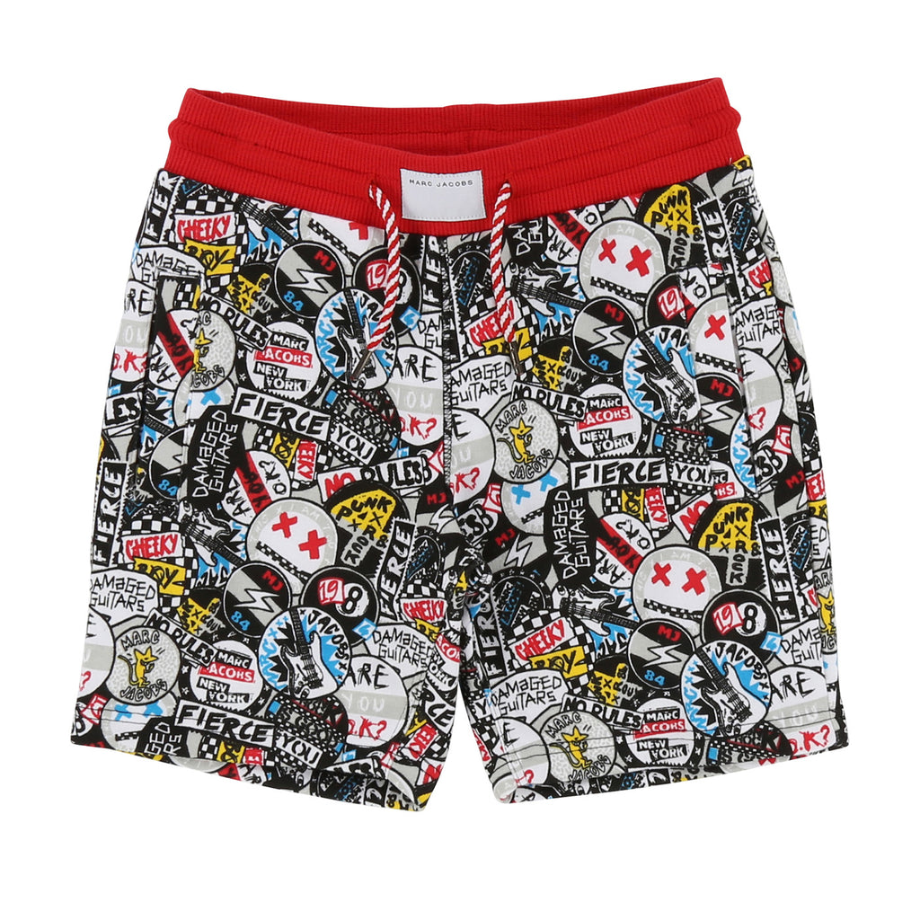 Boys Allover Print Shorts