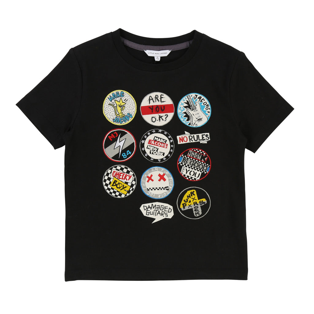 Boys MJ Logo Tee