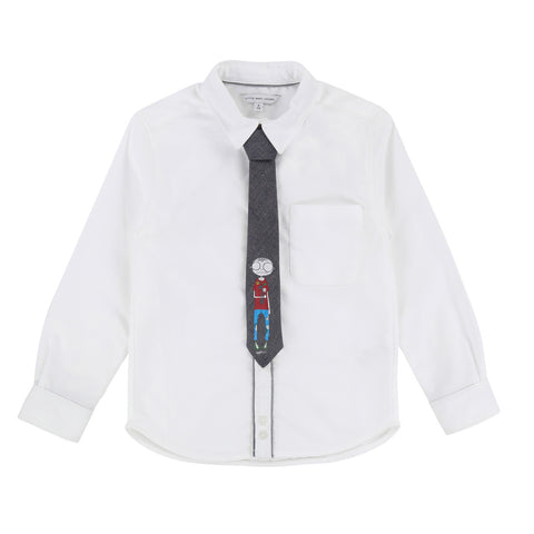Boys Ceremony Shirt with Tie